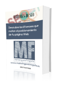 portada ebook 69 errores de seo - marketing para fotógrafos - vicente nadal