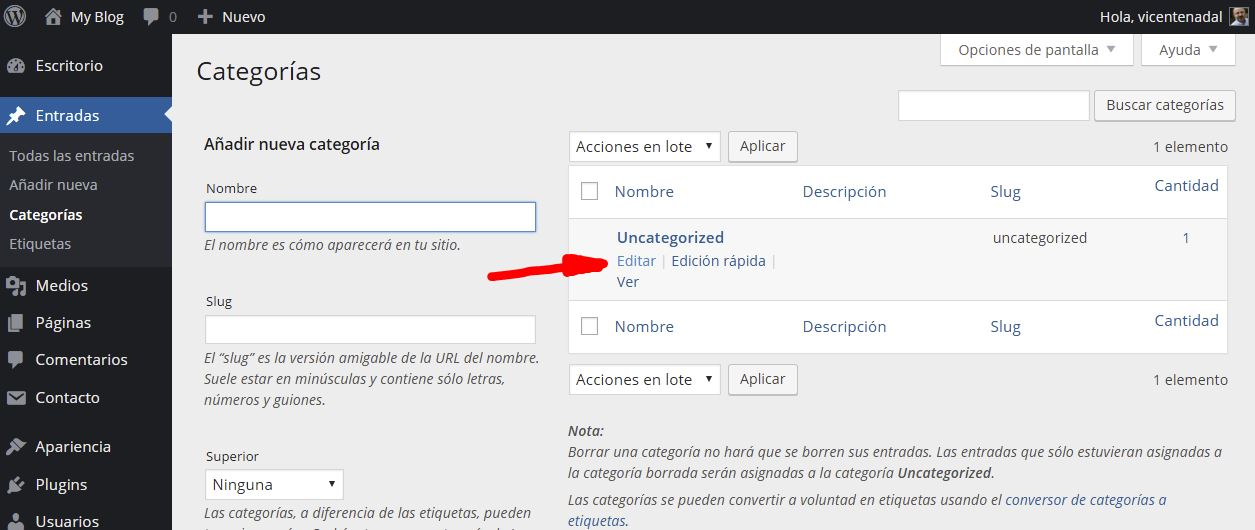 instalar blog 14 - wordpress para fotógrafos - marketing vicente nadal