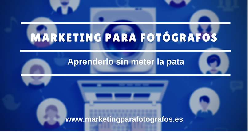 Aprender marketing online para fotógrafos: porqué desconfiar