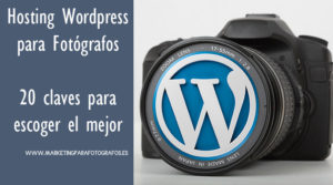 hosting wordpress para fotógrafos