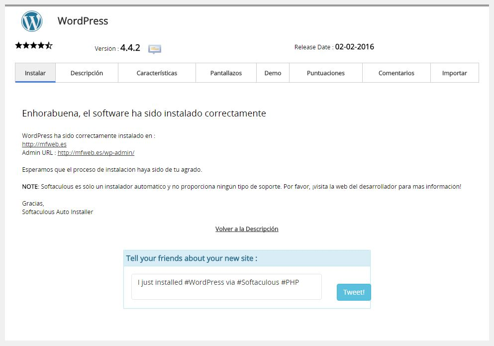 instalar 7 - wordpress para fotografos - marketing vicente nadal